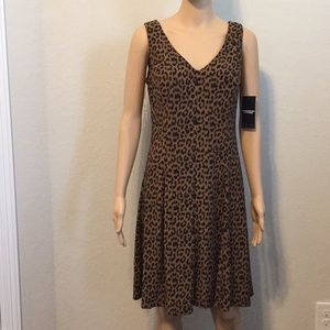 American Living Animal Printed Fit & Flare Dress